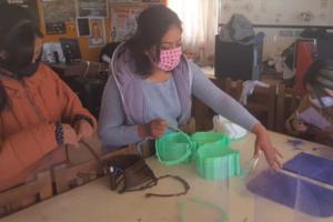 Elaboración de máscaras 3D y ayuda a hospitales y Centros de Salud en Potosí
