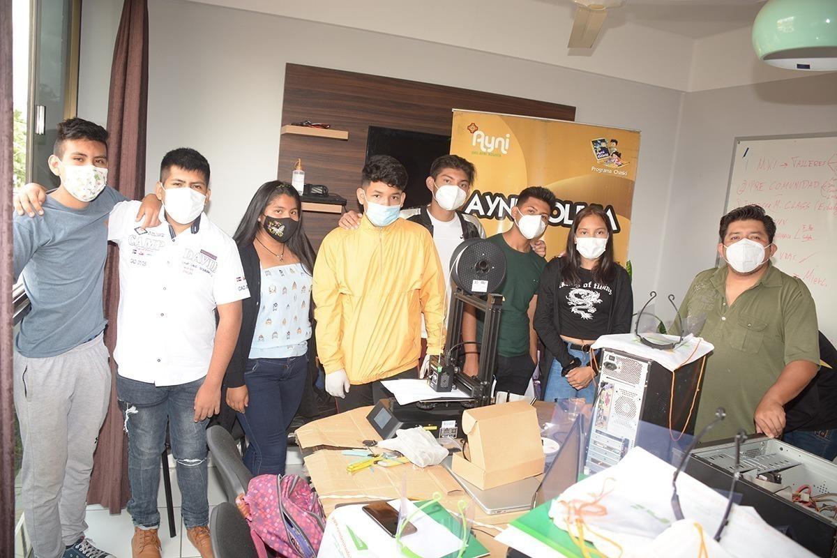 mascaras bioseguridad covid impresora 3d ayni