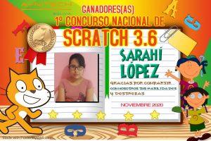 Curso Programación nivel intermedio de scratch y primer concurso nacional de scratch